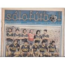 Revista Solo Futbol 9 De Febrero De 1987 Boca Juniors