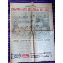 Campeonato De Futbol De 1959 El Tiempo De Cuyo