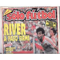Revista Solo Futbol 26 De Noviembre De 1990 River Plate
