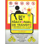 Ley Nacional De Tránsito Y Seguridad Vial Nro. 24449 Y Modif