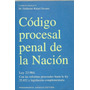 Codigo Procesal Penal De La Nacion - Guillermo Navarro Usado