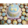 Baby Shower Mini Torta + 24 Minicupcakes Personalizados!