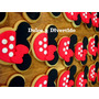 Cookies, Galletitas Decoradas: Serie Minnie/mickey X Docena