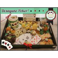 Desayuno A Domicilio! Regalo Sorpresa,poker! Papá Original