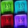 Reloj Despertador Colores Lcd Temperatura Fecha Hora Oferta!