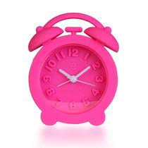 Reloj Despertador Rubberchic Fucsia