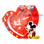 Reloj Despertador Mickey Mouse Corazon Ideal Regalo