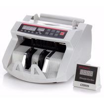Maquina De Contar Billetes Con Detector De Falsos + Garantía