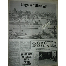 Diario Gaceta Marinera Armada 498 Fragata Libertad Escuela
