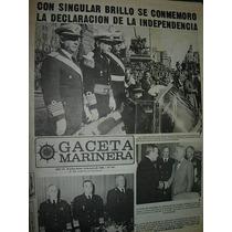 Diario Gaceta Marinera Armada 441 Dia De La Independencia