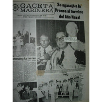 Diario Gaceta Marinera Armada 499 Agasajo A La Prensa