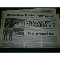 Diario Gaceta Marinera 3/11/83 Fragata Libertad Prefectura
