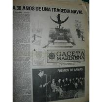 Diario Gaceta Marinera Armada 424 Traged Rastreador Fournier