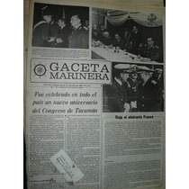 Diario Gaceta Marinera Armada 510 Aniversario Congreso Tucum