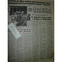 Diario Gaceta Marinera Armada 518 Ejercitaciones Flota Mar