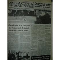 Diario Gaceta Marinera Armada 509 Iglesia Stella Maris