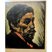 Sergio Sergi. Criollo - Xilografía. Año 1944. Envío Gratis