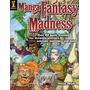 Manga Fantasy Madness: 60 Lecciones Dibujo Comics En Ingles