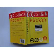 Diccionario Collins Aleman Español Pocket 530 Paginas