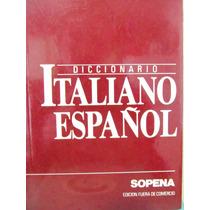 Diccionario Italiano Español Sopena