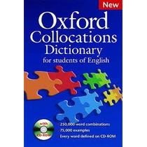 Oxford Collocations Dictionary + Cd 2ª Ed