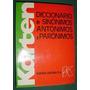 Karten Libro Diccionario Sinonimos Antonimos Paronimos 375pg