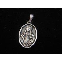 Medalla Del Sagrado Corazon Acero Quirurgico