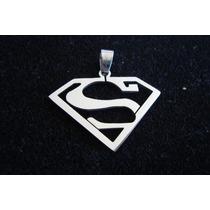 Dije Superman Súperhéroe Acero Quirúrgico Soho Hombre Unisex