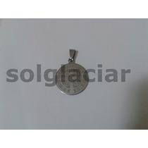 Dije Acero Quirurgico San Benito - Medalla Doble 2 Lados