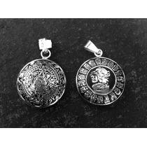 Dije Colgante Collar Del Calendario Azteca- Maya