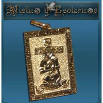 Gauchito Gil Medalla En Oro 18 Kt 2 Cm Modelo 20