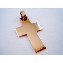 Cruz De Oro Amarillo Macizo