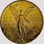 Moneda Mexicano De Oro De 50 Pesos $24000