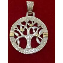 Medalla Árbol De La Vida De Plata Y Oro