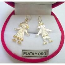 Nene/ Nena Plata Y Oro X 1 Unidad