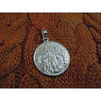 Dije-medalla Virgen Desatanudos De Plata 925, Gtia!.- D12
