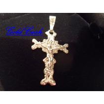 Urgente Cruz Cristo Realizada En Plata 925 $690