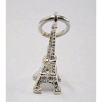 Dije Torre Eiffel En Plata 925