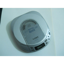 Discman Coby, Antishock, Lee Cd + Parlantes De Pc
