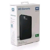 Disco Portatil Wd Elements Externo 1tb Usb 3.0 Insumoft