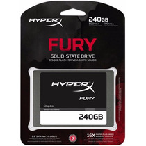 Kingston Hyperx Fury Disco Ssd 240 Gb Estado Solido Sata 3