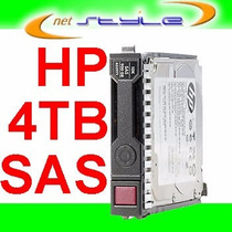 Hp 4tb Sas 3.5 12gb/s 512e P/ Hp Proliant Ml150 G8 G9