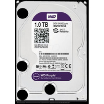 Disco Duro Western Digital 1tb Sata Iii Purple Surveillance