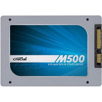 Disco Estado Solido Ssd 480gb Crucial 2,5 M500 Sata 6gb/s Pc