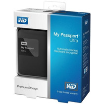 Disco Externo Portable Wd My Passport Ultra 2tb Usb 3.0