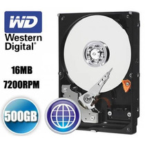 Disco Duro 500gb Western Digital Sata 3 7200rpm 16mb