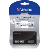Disco Sólido Externo Usb 3.0 External Ssd Verbatim 256 Gb