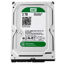 Disco Rigido 2tb 64mb Sata3 Western Digital Green 6 Gb S