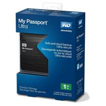 Disco Externo Wd Western Digital Passport Ultra 1 Tb Usb 3.0