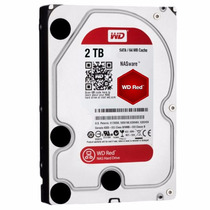 Disco Rigido Wd Western Digital Red 2tb Sata3 64mb Nas Raid